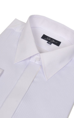 Plain Collar Dress Shirt