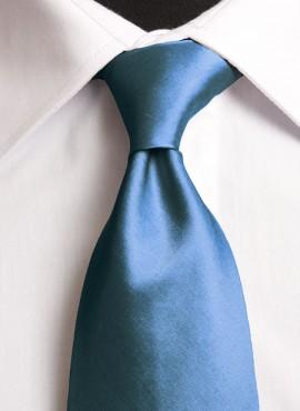 Teal Standard Tie (+ Handkerchief)