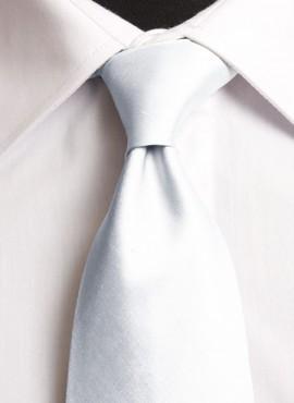 White Standard Tie (+ Handkerchief)