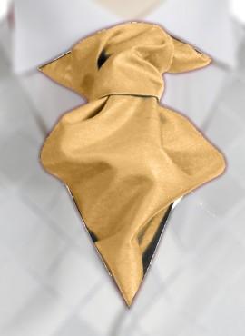 Lemon Ruche Tie (+ Handkerchief)