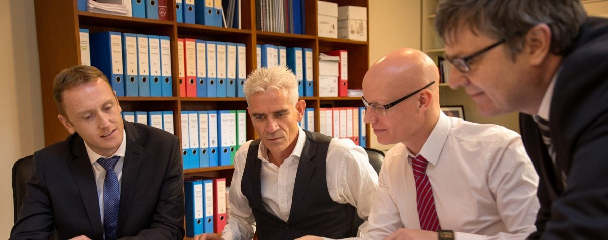 About us: John O'Brien at work