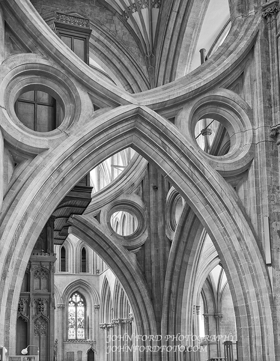 WELLS TRANSCEPT, ENGLISH CATHEDRALS