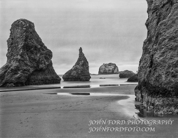 BANDON MONOLITHS, OREGON