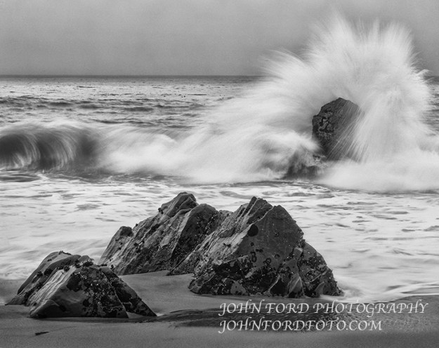 GARAPATA SURF, CALIF.