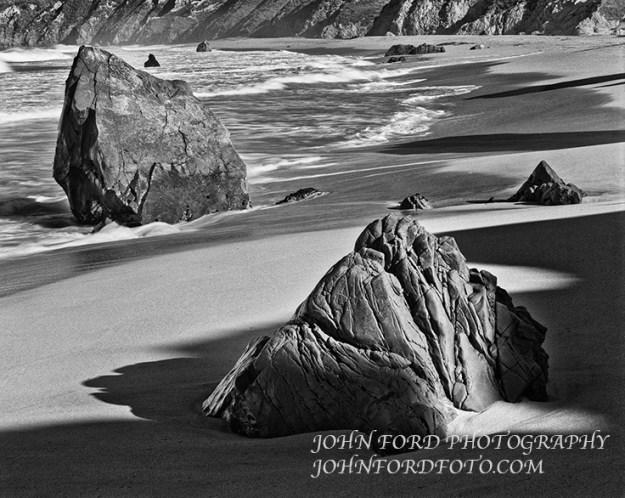 GARAPATA BEACH ROCKS, CALIF.
