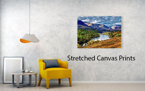 As well as fine art prints I also provide Stretched Canvas Prints.