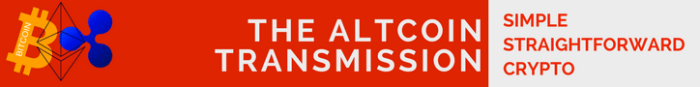 The Altcoin Transmission Banner