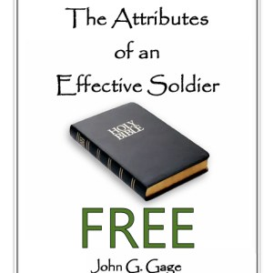 The Attributes of an Effective Soldier