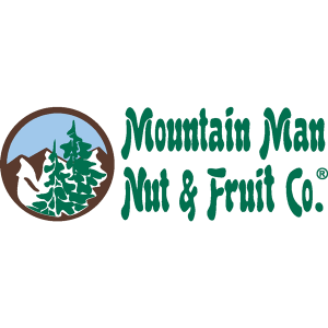 mountain man nut and fruit logo