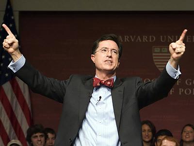 Stephen Colbert, Harvard