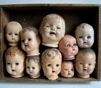 Porcelain Heads