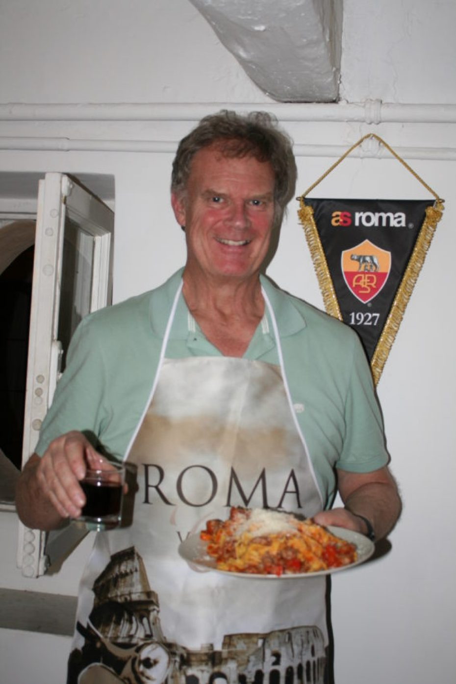 I'm not a great cook, but I'm a good cook in Rome. Fresh pasta and sweet tomatoes can make simple meals delicious.