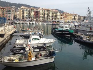 It's not Monaco but the harbor in Nice is nice.