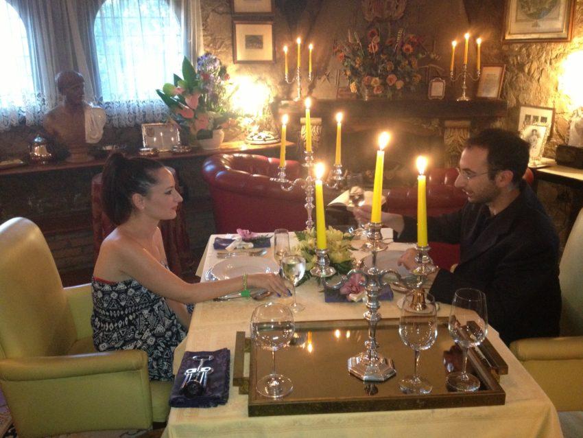 "Rome dining: ""World's Smallest Restaurant"" is also world's most romantic restaurant"