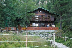 Zankovskeho chata where I spent the night.