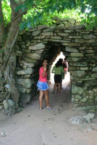 The entry doorway that separated the Mayan haves from the have nots.