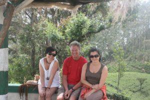 Jana, me and Kristiana at Lipton's Seat.