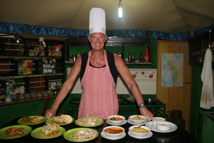 There's starving in India? Indian cooking class produces a feast fit for a village