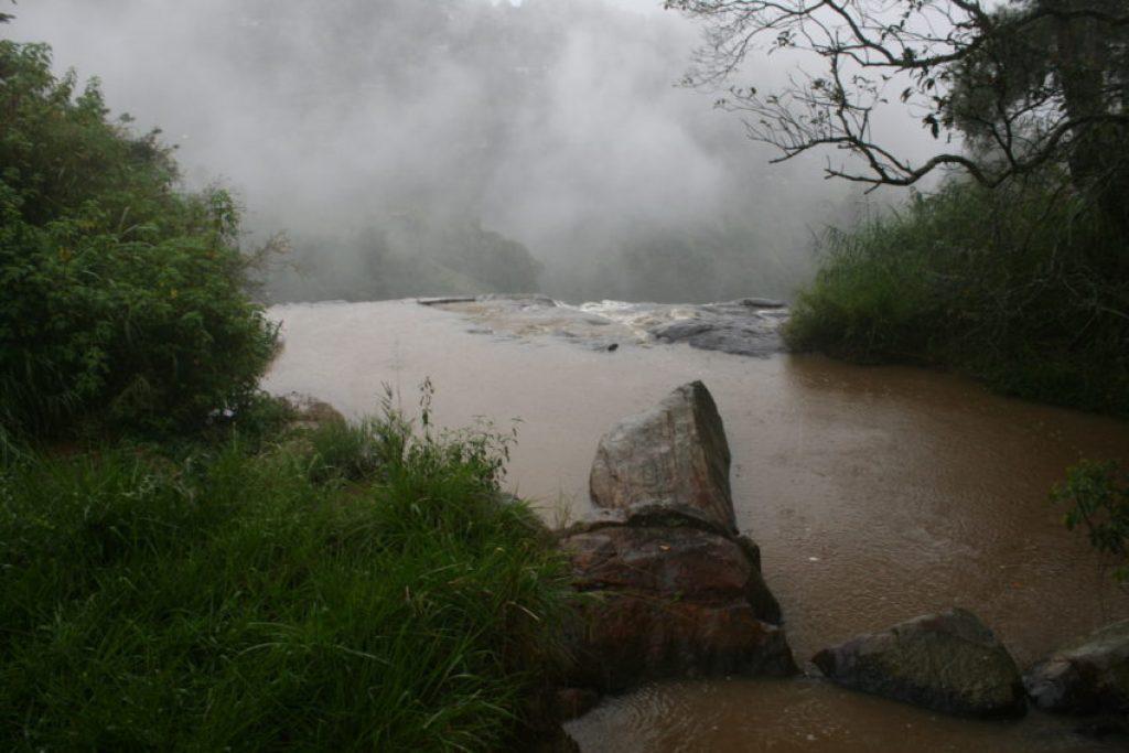 Rawana Falls, one of the landmarks going up Ella Rock.