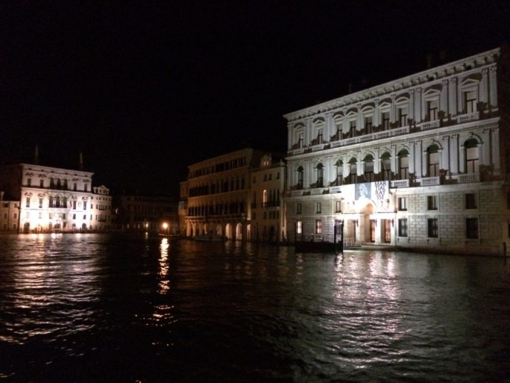 The Grand Canal is now 50 feet deep thanks to a 1952 ruling to attract more large ships.