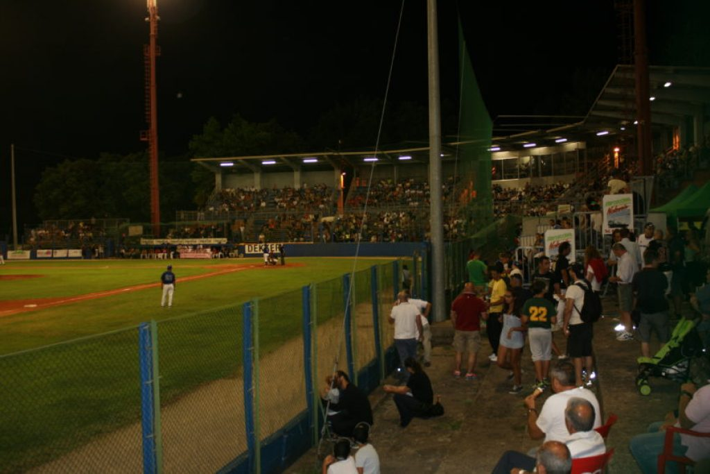 Stadio Gianni Falchi was built in 1969 and holds 2,500 people.