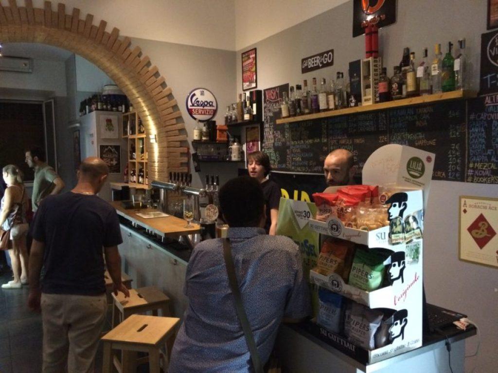 Birra Piu is in Pigneto, the gentrified drug center of Rome.