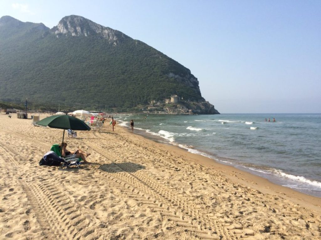 Sabaudia's beach is 60 miles south of Rome and the sea is as clear as the Caribbean.