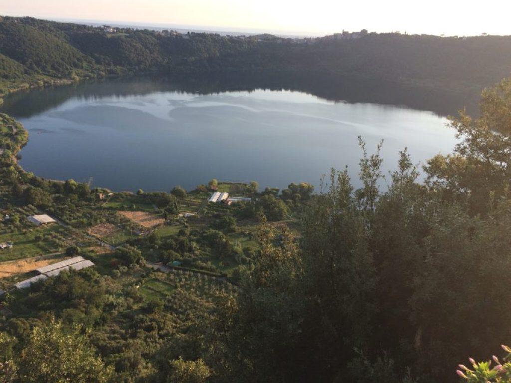 Emperor Caligula used to have yachts on Lago di Nemi.