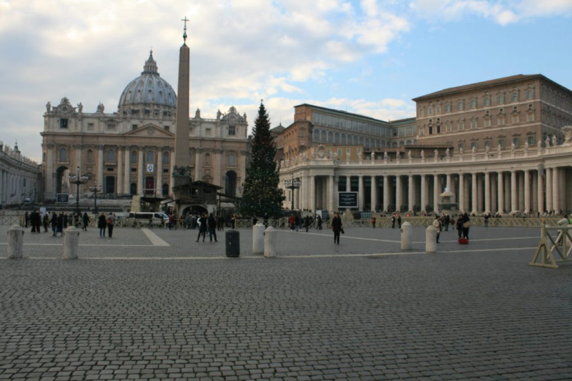 St. Peter's Square after Pope Francis gave the opening speech at the Jubilee. Hotel occupancy is down 20 percent at the start of an event expected to attract 33 million pilgrims.