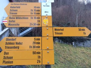 Everything is close in Liechtenstein which is 62 square miles, about the size of Staten Island.