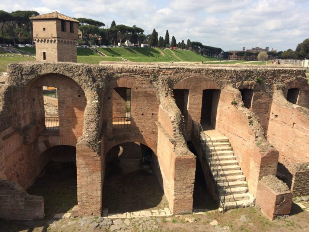 The renovation of Circo Massimo is an ever-present project.