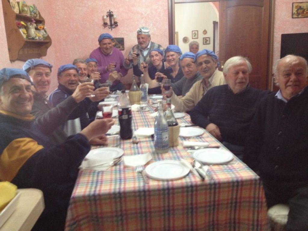 May Day celebration in Trasacco, Abruzzo.