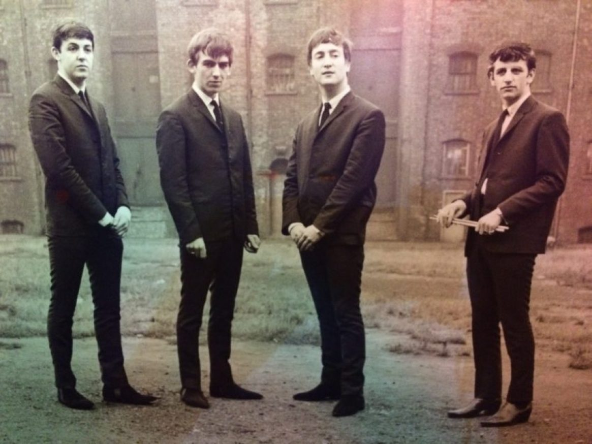 The Beatles began forming behind a Liverpool church in 1957 and in four years became international stars. They've sold an all-time high 600 million records.