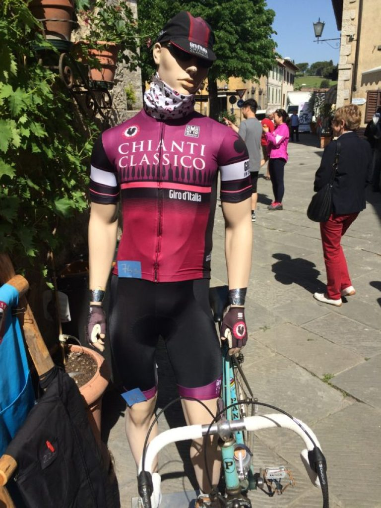 The Giro d'Italia comes through Castellina in Chianti today.