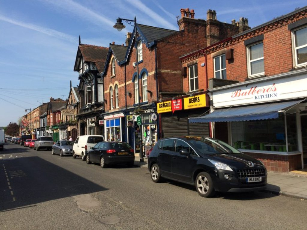 Lark Lane is one of the most complete streets I've seen in Great Britain.