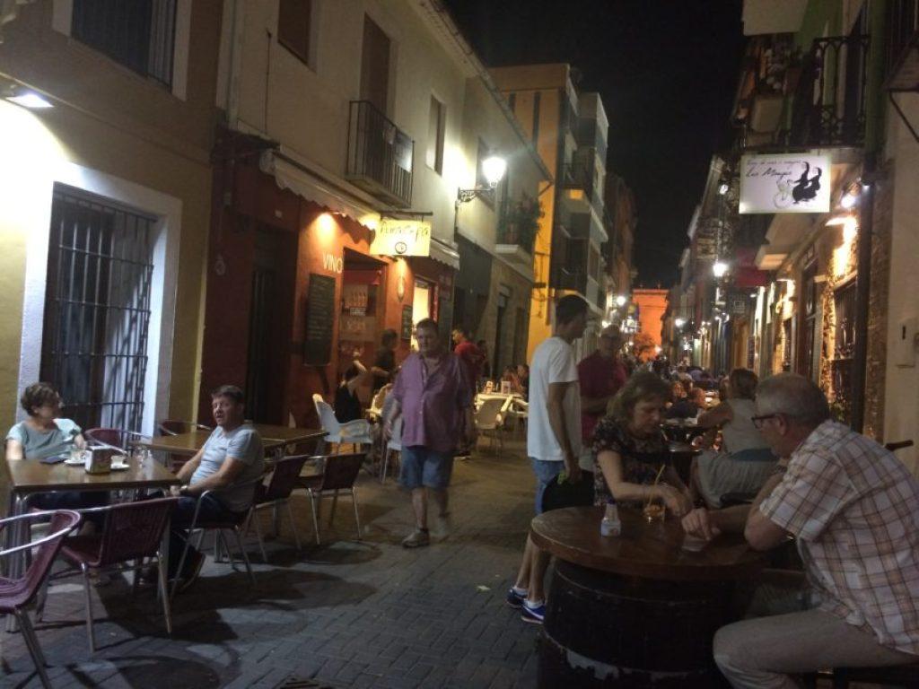 Calle Loreto.
