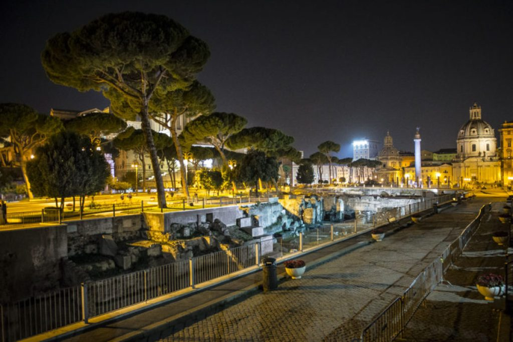 The Forum of Augustus. Photo by Marina Pascucci