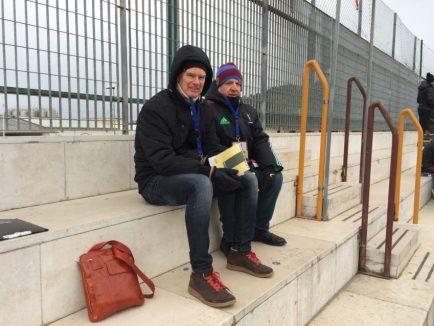 Stadio Ricciardelli press box