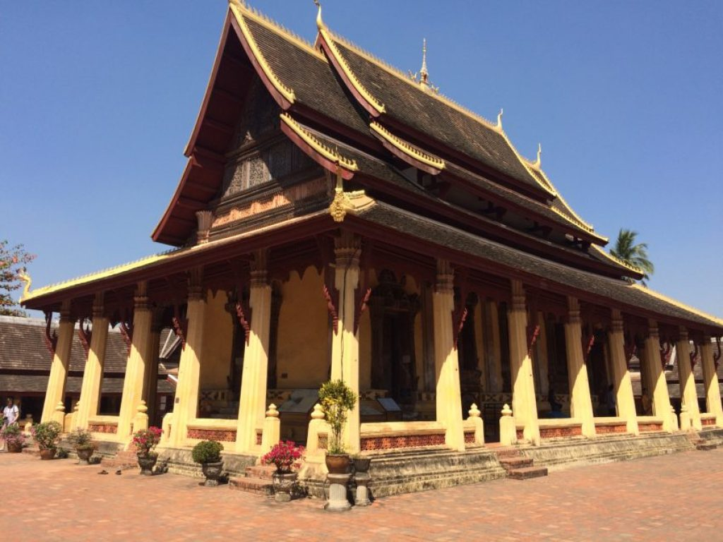 Wat Si Saket is one of the few temples in Vientiane not destroyed by the Siamese.