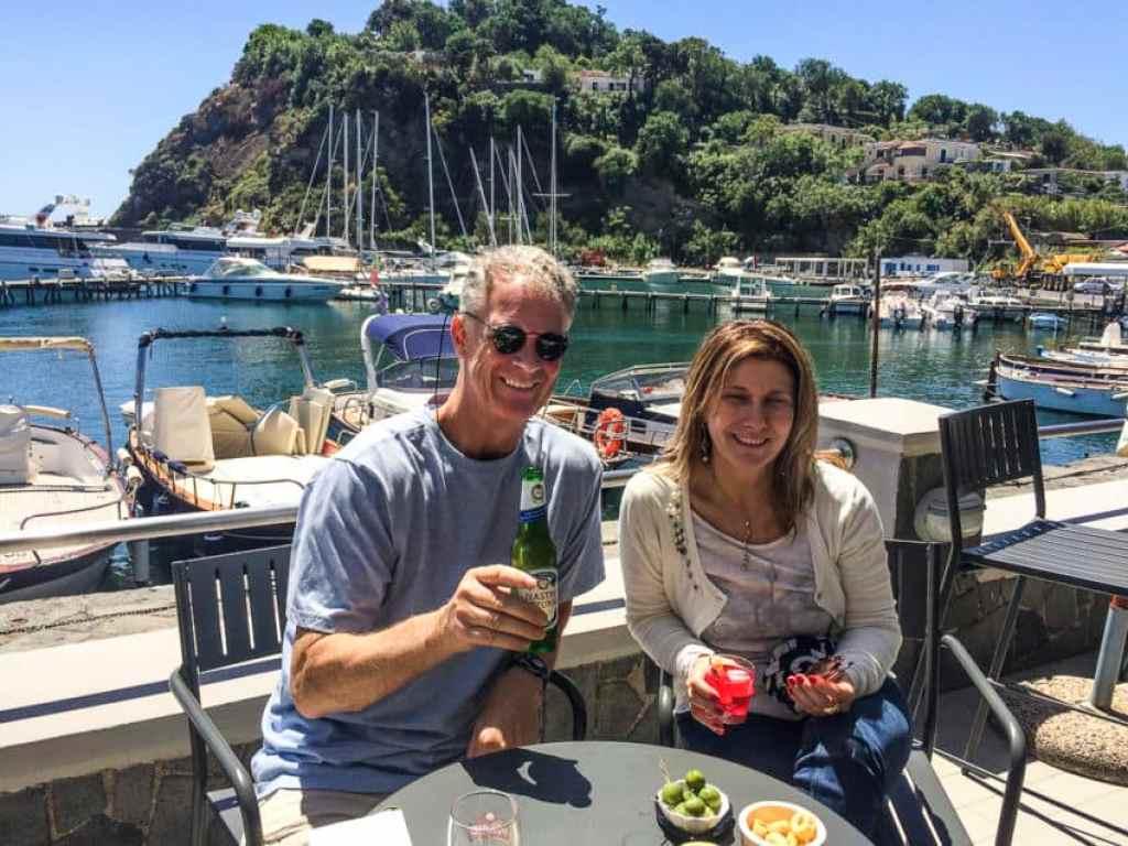 Me and Marina at Chalet Vicidomini.