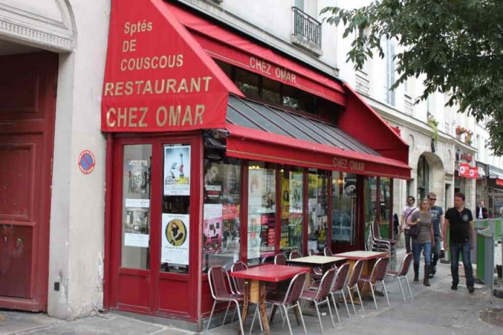 African restaurants are one of Paris' specialties.