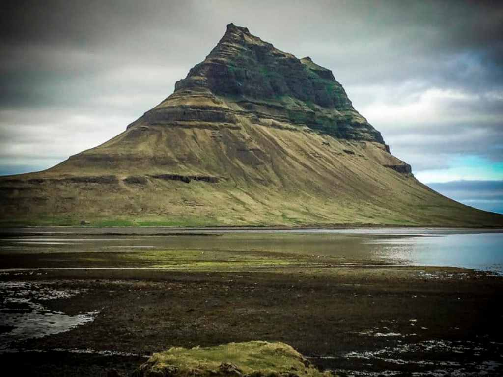 """Kirkjufell in West Iceland was featured in """"The Secret Life of Walter Mitty."""""""