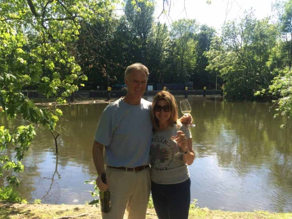 Me and Marina finished up a great weekend with a picnic at Tiergarten.