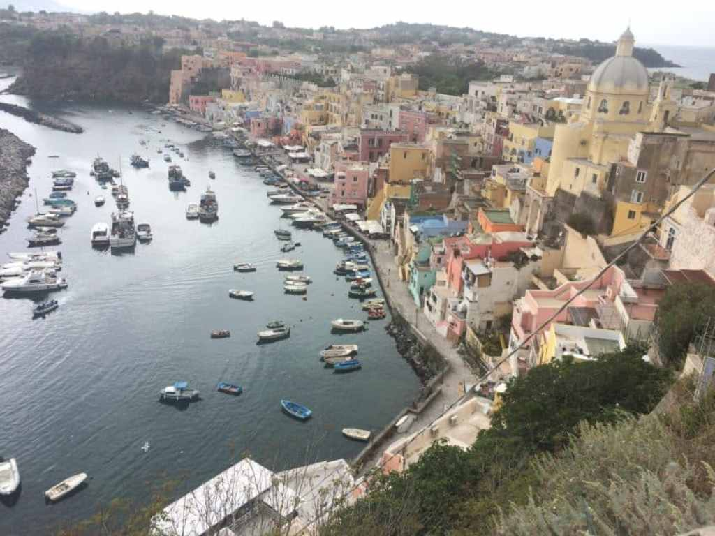 "Procida was the site of the hit 1995 film ""Il Postino."" Photo by Marina Pascucci"