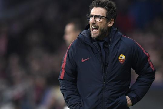 New coach Eusebio Di Francesco has made AS Roma one of the surprise teams in Europe.