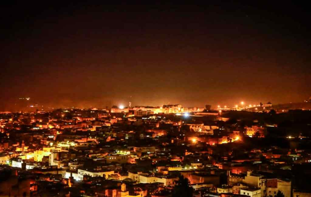 Fez at night. Photo by Marina Pascucci