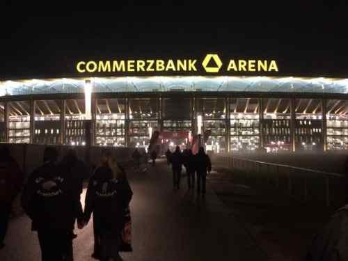Eintracht Frankfurt's Commerzbank-Arena.