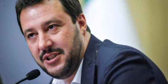 Matteo Salvini. Photo by Terzo Binario News