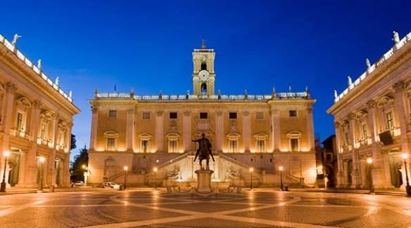 Piazza del Campidoglio. OMNIA Vatican photo
