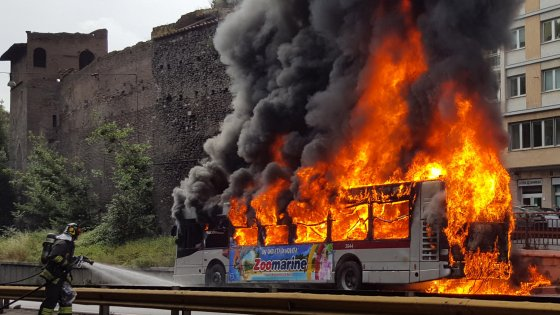 Rome public transportation: A fiery controversy leaves me waiting for answers — and a bus